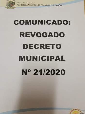 DECRETO MUNICIPAL Nº 22/2020